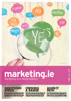Marketing.ie Volume 24 | No.5 | May 2013